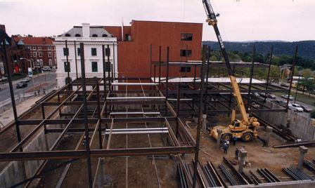 Dutchess County Family Court Steel Erection